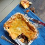 Maandag 5 november paddenstoelenpastei, appel-linzensalade en Haagse Bluf